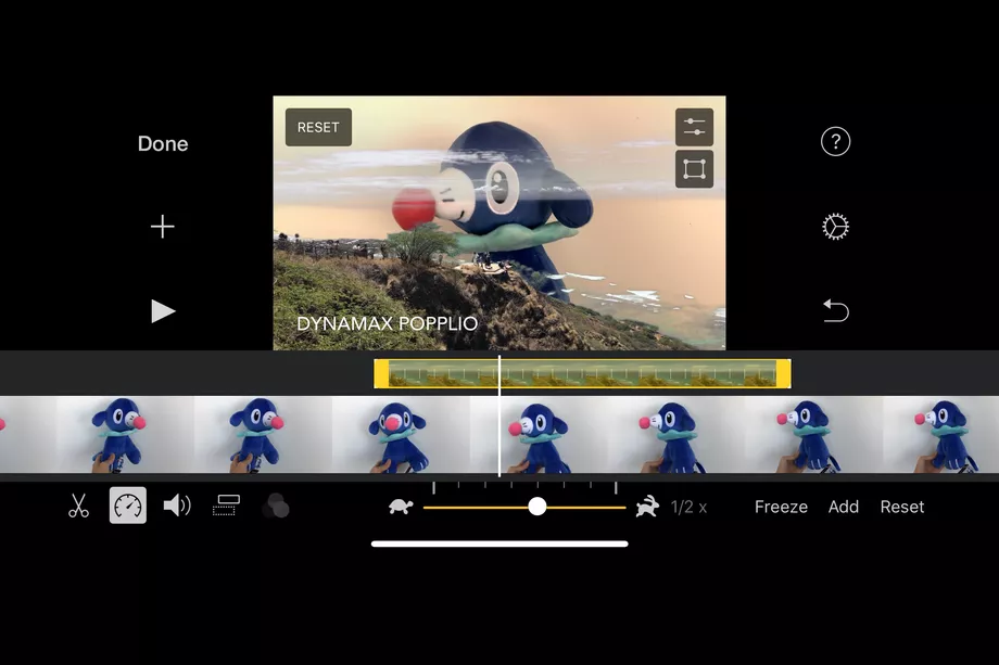 iMovie for iOS adds a green screen feature in 2020