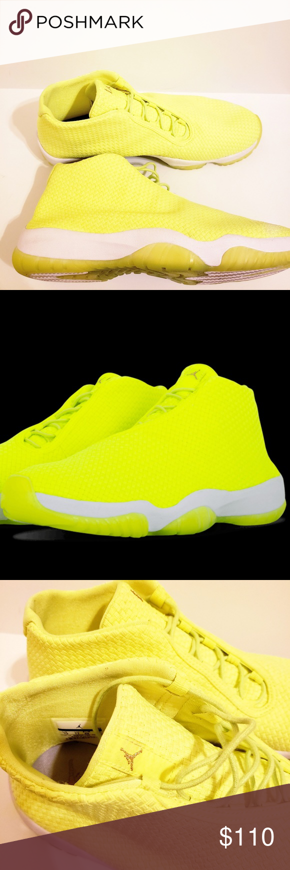 acfce953ee2bcb NWOT Air Jordan Future Volt Brand New without box The lifestyle-minded Jordan  Future receives its boldest look ever with this colorway in Volt with  bright ...