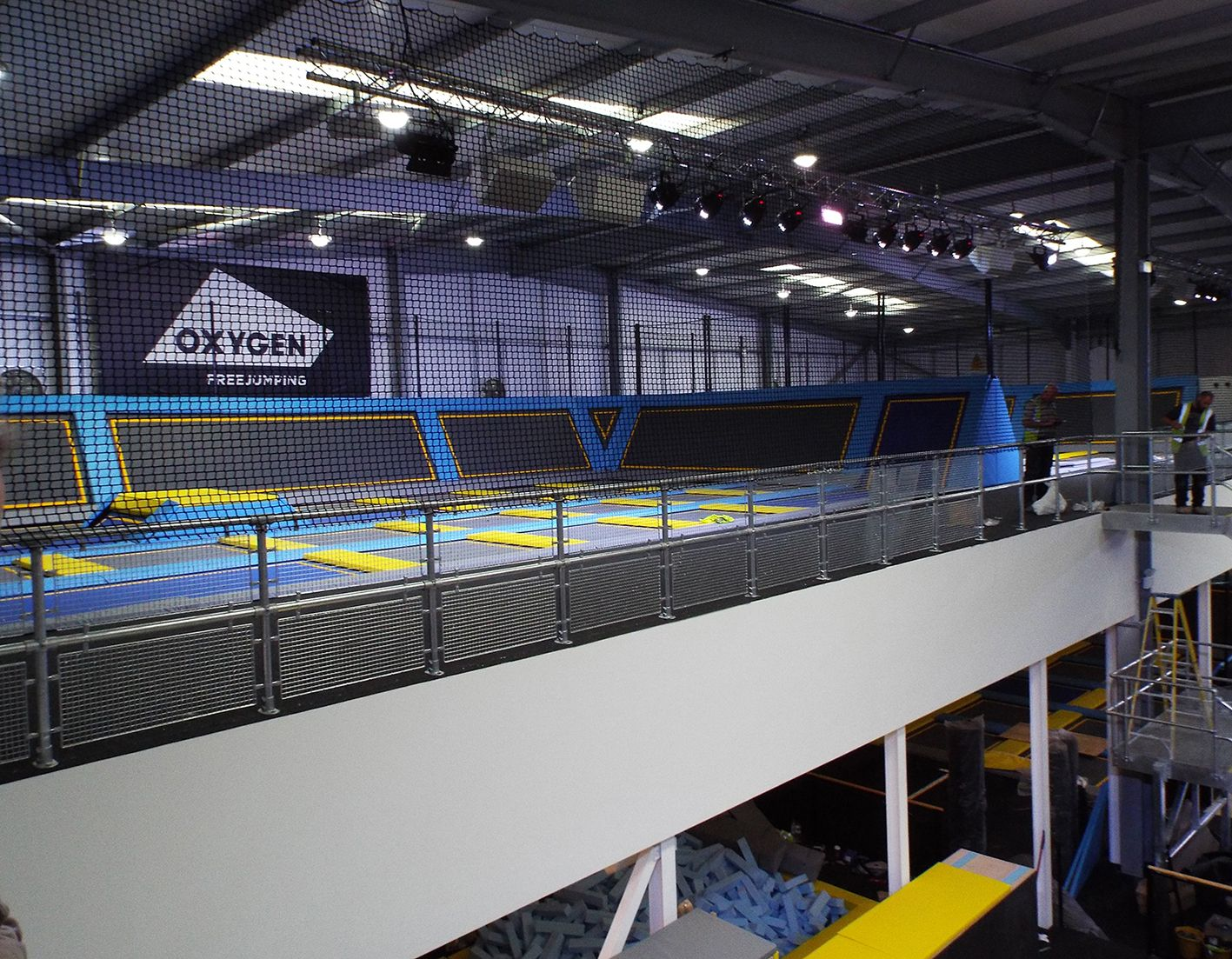 Oh what a site londons first trampoline park london