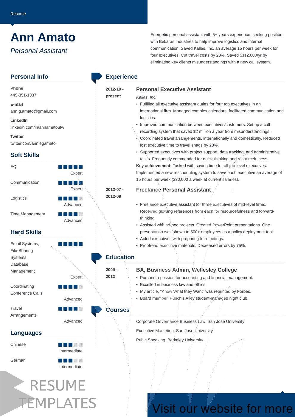 free resume builder templates Best in 2020 Job resume