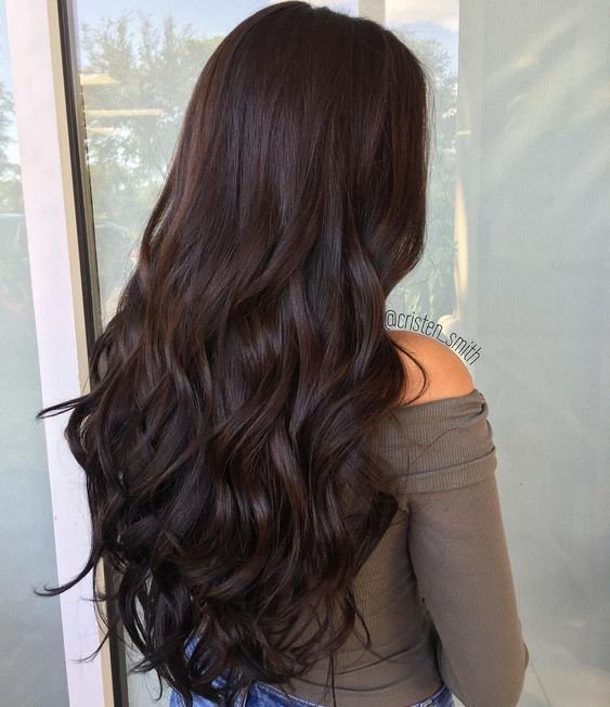 17 Best Chocolate Brown Hair Color Ideas 2018