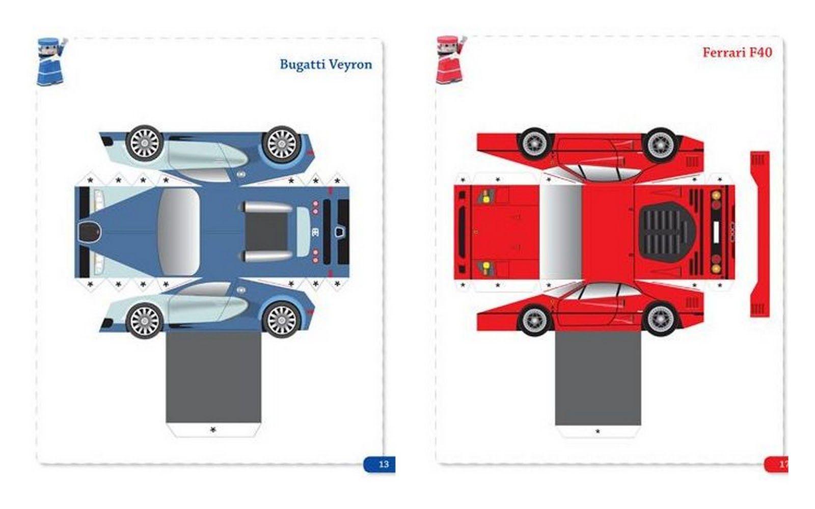 Bugatti Veyron - Ferrari F40 | AUTOS PARA IMPRIMIR | Pinterest ...