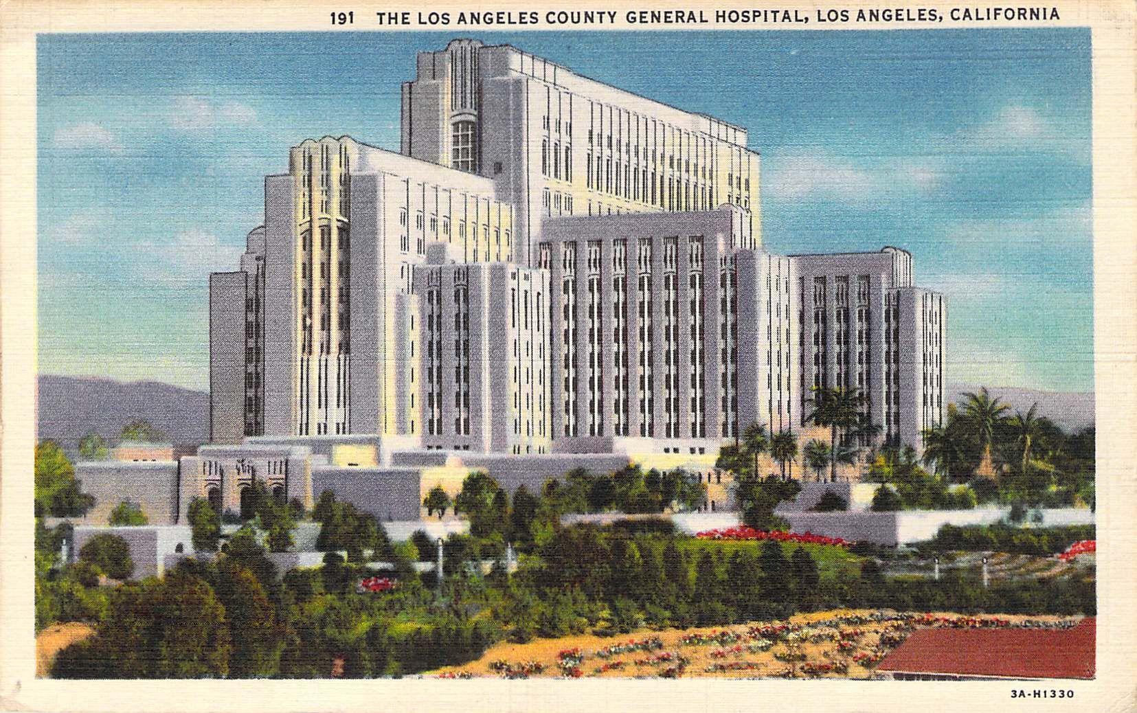 Los Angeles County General Hospital Los Angeles Ca County Hospital General Hospital Los Angeles