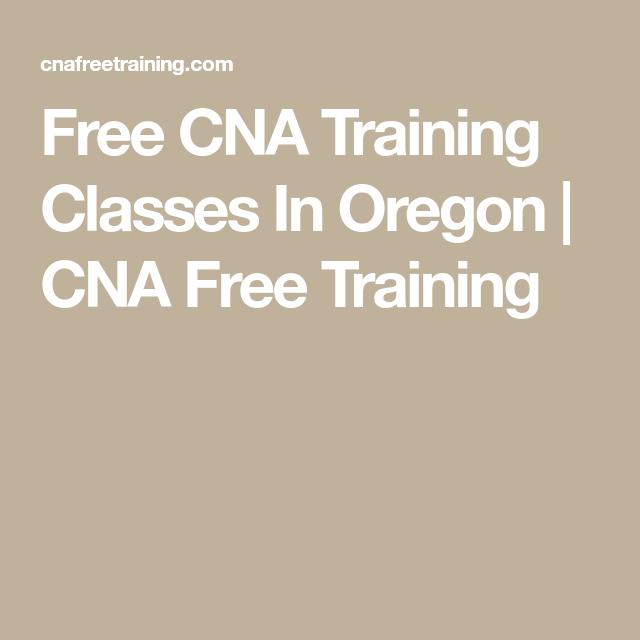 cna training classes oregon pratice test
