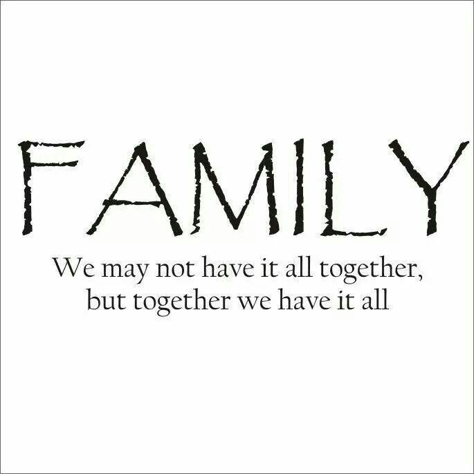 Stay together, and together you will stay strong. | Family ...