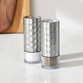 New Clearance And Outlet Crate And Barrel With Images Crate And Barrel Salt And Pepper Set Crates