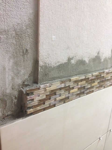 Never Install Tiles On Damp Walls Always Use Anti Humidity Boards First To Eliminate Dampness And Long Lasting Finish Humidity Sound Proofing Home Repair