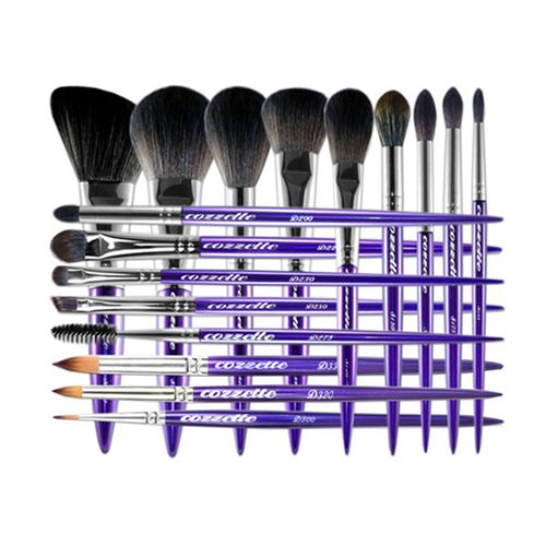 The Divinity Collection Vegan Makeup Brush Set In Comprised Of 23 Stylish Makeup Tools Designed Vegan Makeup Brushes Makeup Brush Set Favorite Makeup Brushes