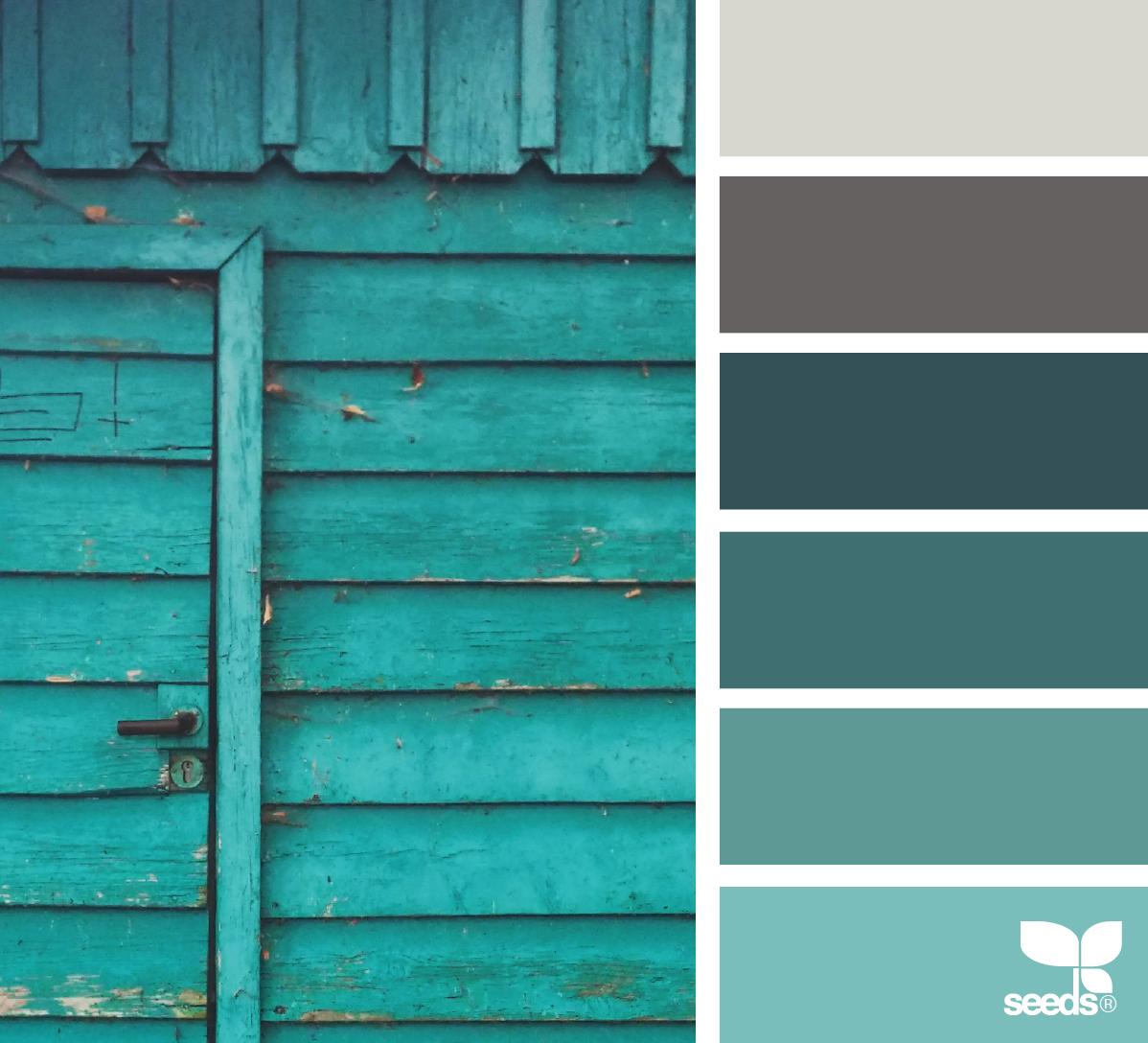 Color worn rustic color design seeds et turquoise - Rustic home exterior color schemes ...