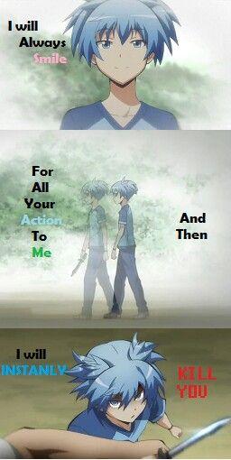 Quotes From Me (Anime : Ansatsu Kyoushitsu)