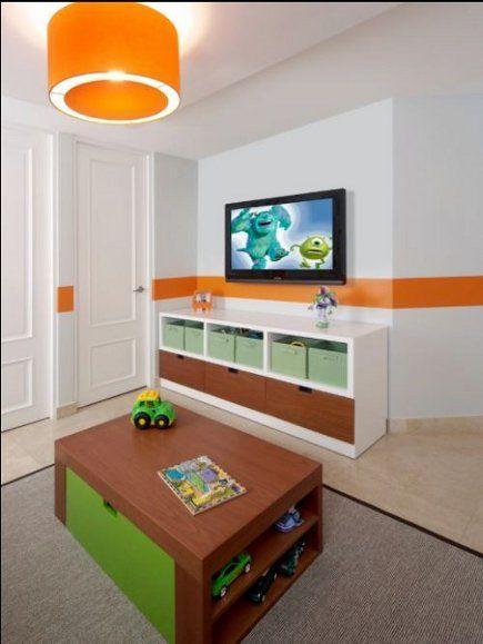 dec kids colorblock3 435 brodie s room pinterest toddler rooms rh pinterest com Big TV Old TV
