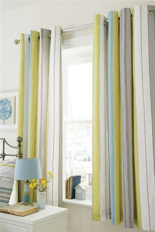 Next curtains.  (Kyle room)