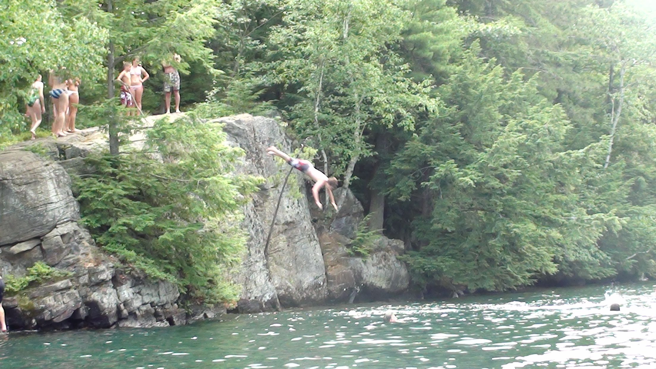 Cliff Diving Lake George These Are Just Some Small