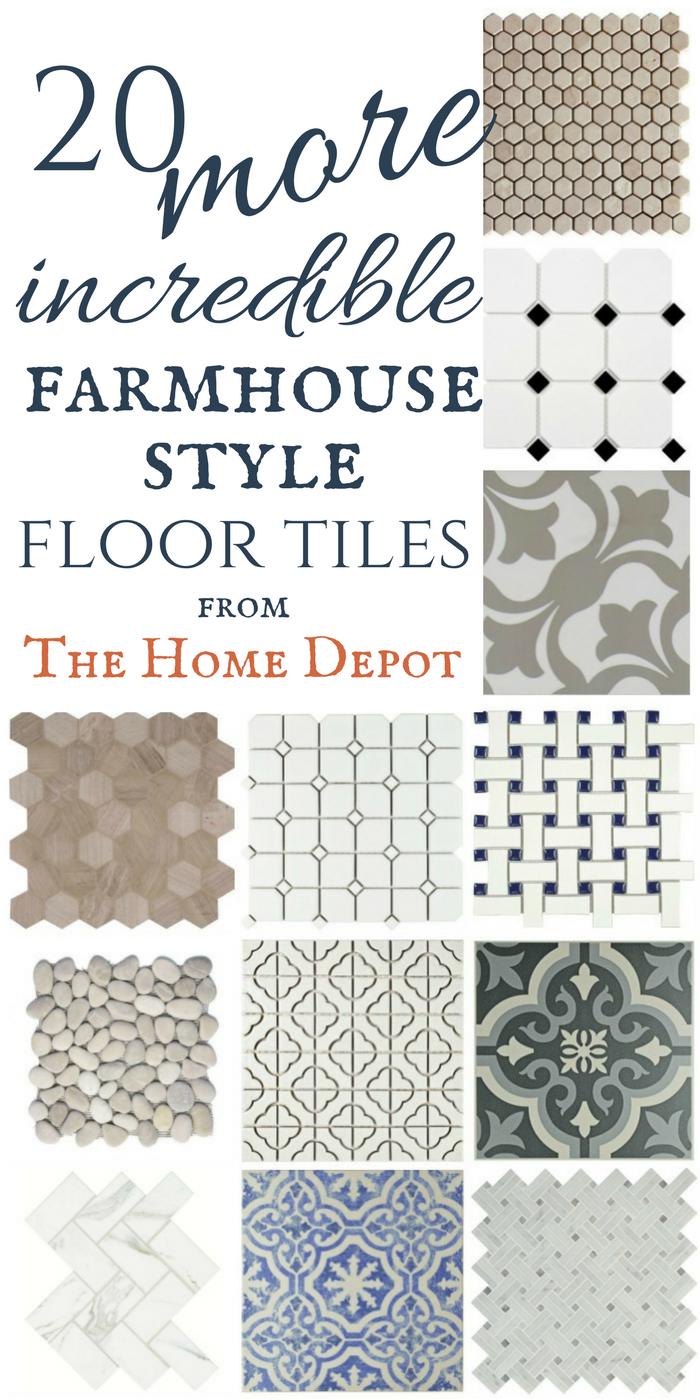 20 more incredible modern farmhouse tiles with sources bathroom floor tiles tile floor on farmhouse kitchen tile floor id=60401