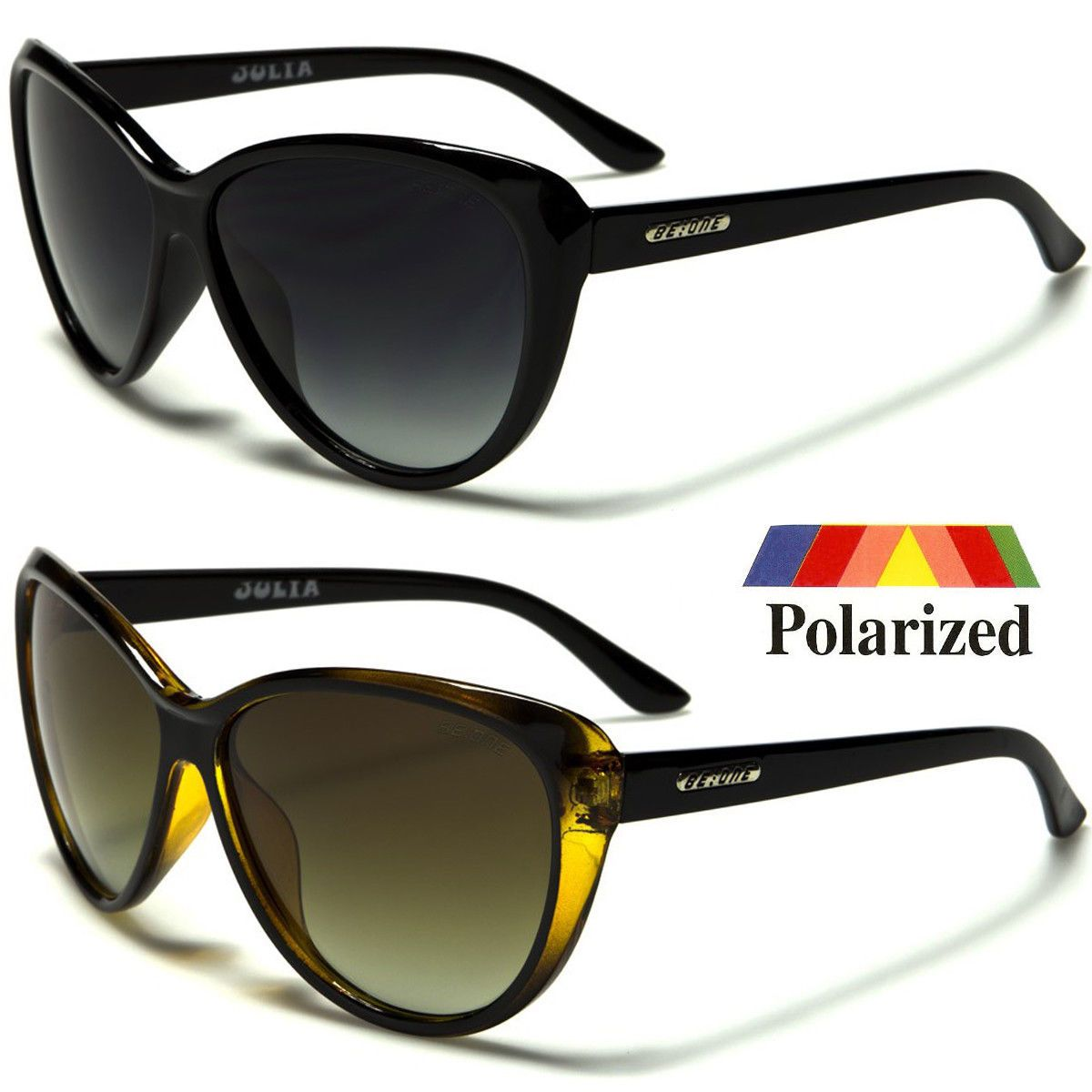 8f04e76ff66 Black Cat Eye POLARIZED Sunglasses Retro Classic Vintage Design Women s  Fashion  7.99 End Date  2019