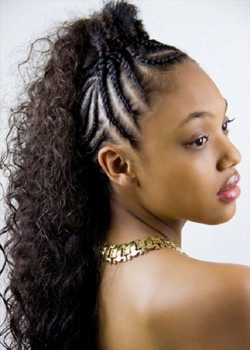 Natural Black Hairstyle For Women