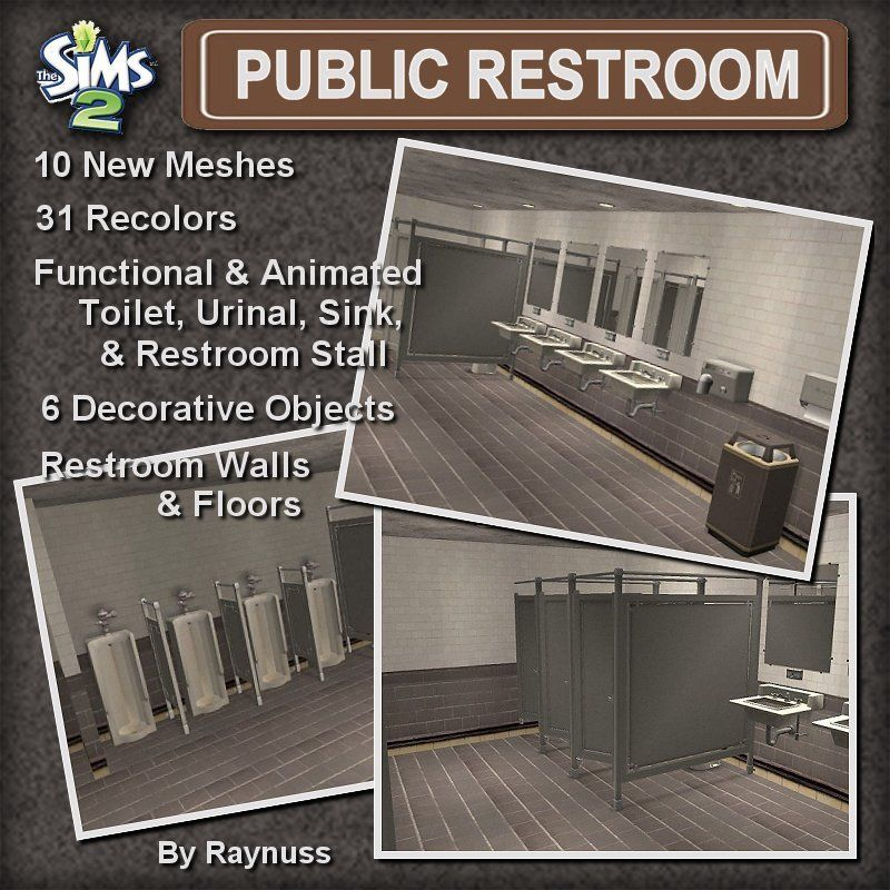 Bathroom Stalls Sims 3 pin{ cc c l u t t e r & s i m s } on ts2 cc finds: grungy