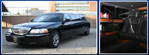 6 Passenger Lincoln Town Car Stretch Limousine Travel In Style And