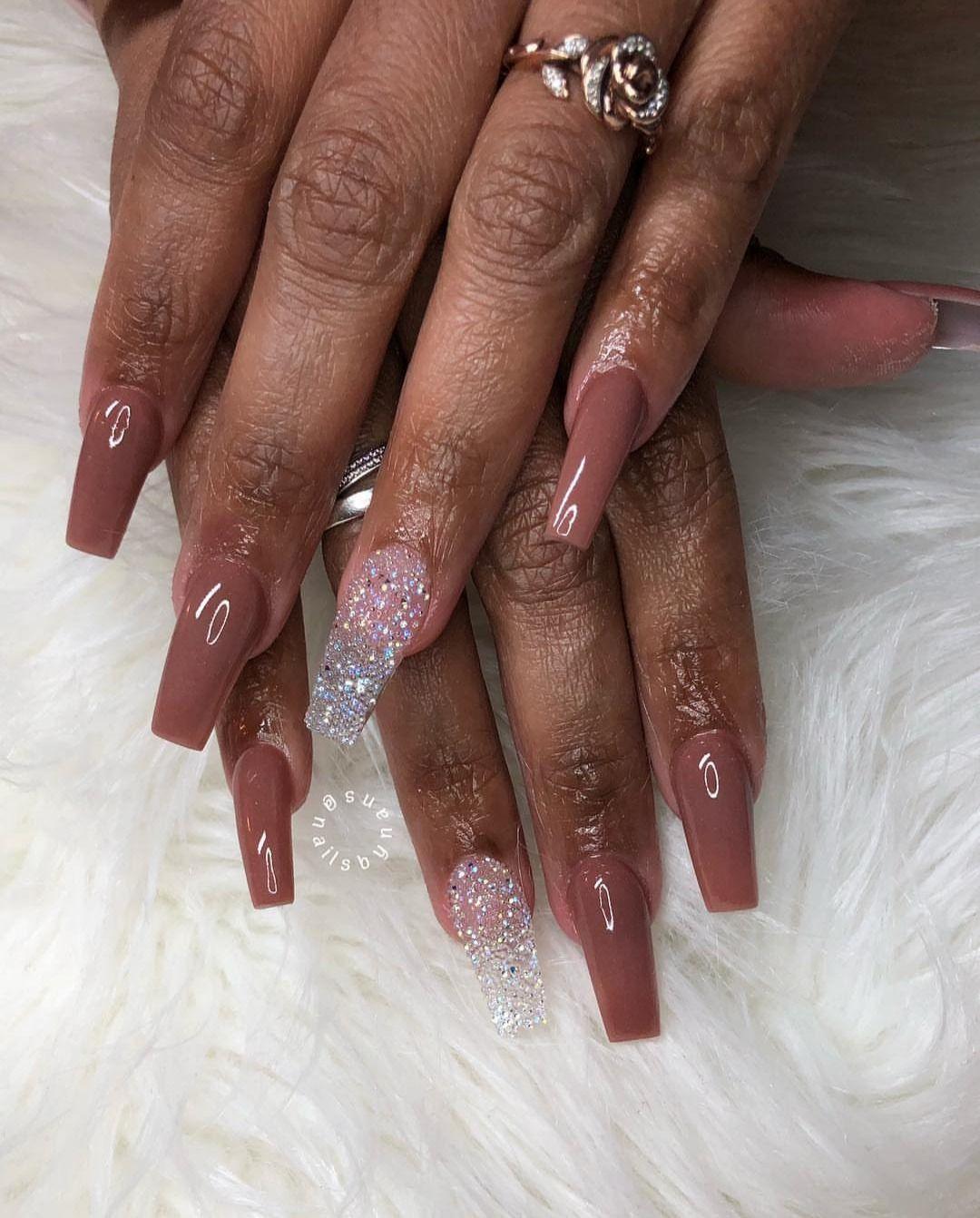 Nail Designs For Black Women : designs, black, women, Nails, Black, Women, Acrylic, Designs, Classy,, Classy, Designs,, Multicolored
