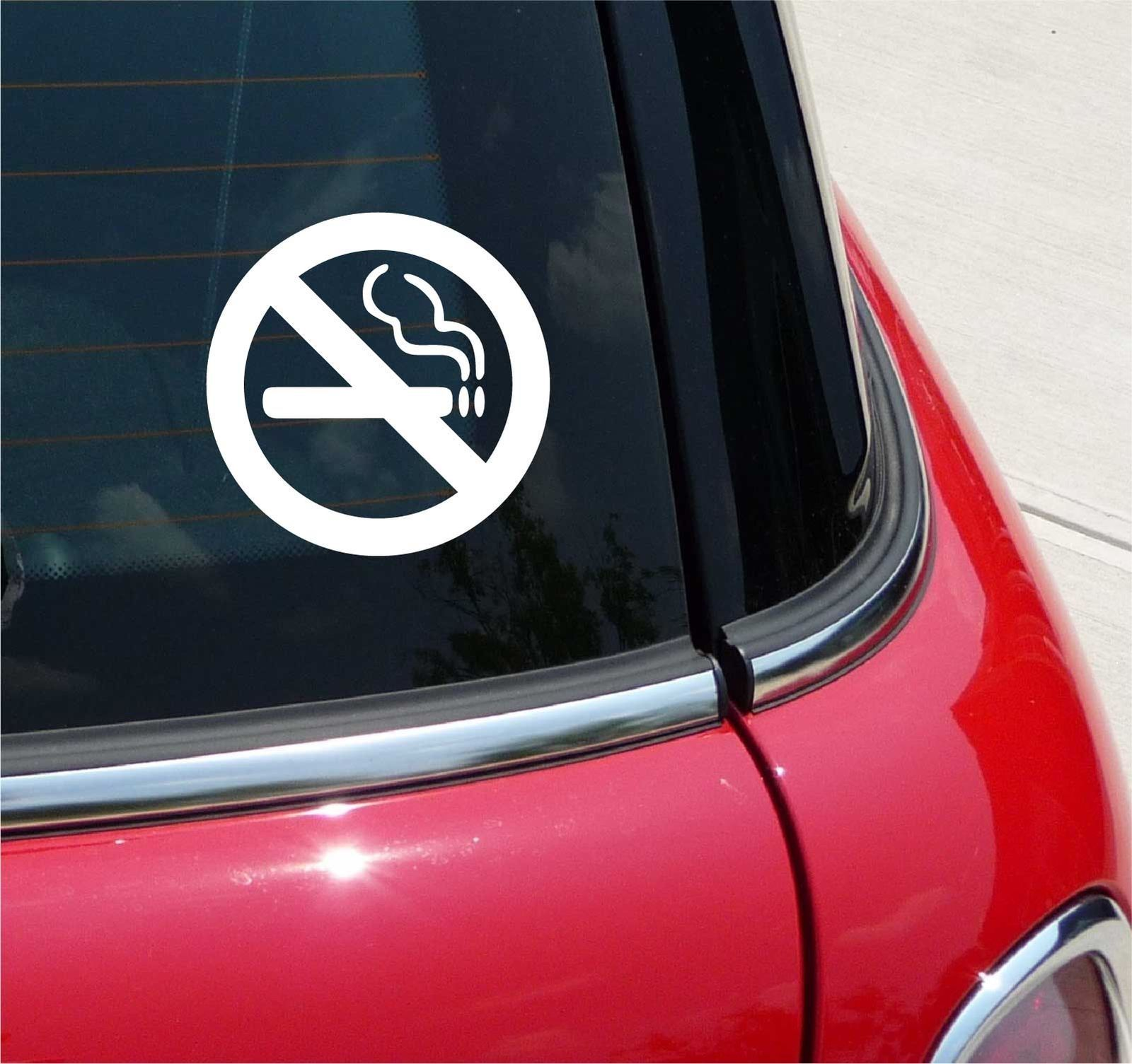 No smoking office home school graphic decal sticker art car wall decor