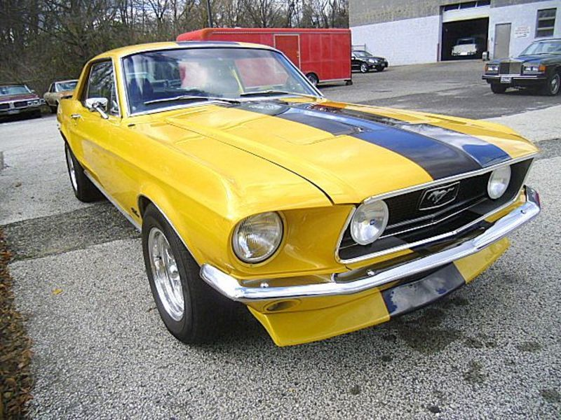 1968 Ford Mustang Cp. for sale - Stratford, NJ | OldCarOnline.com ...