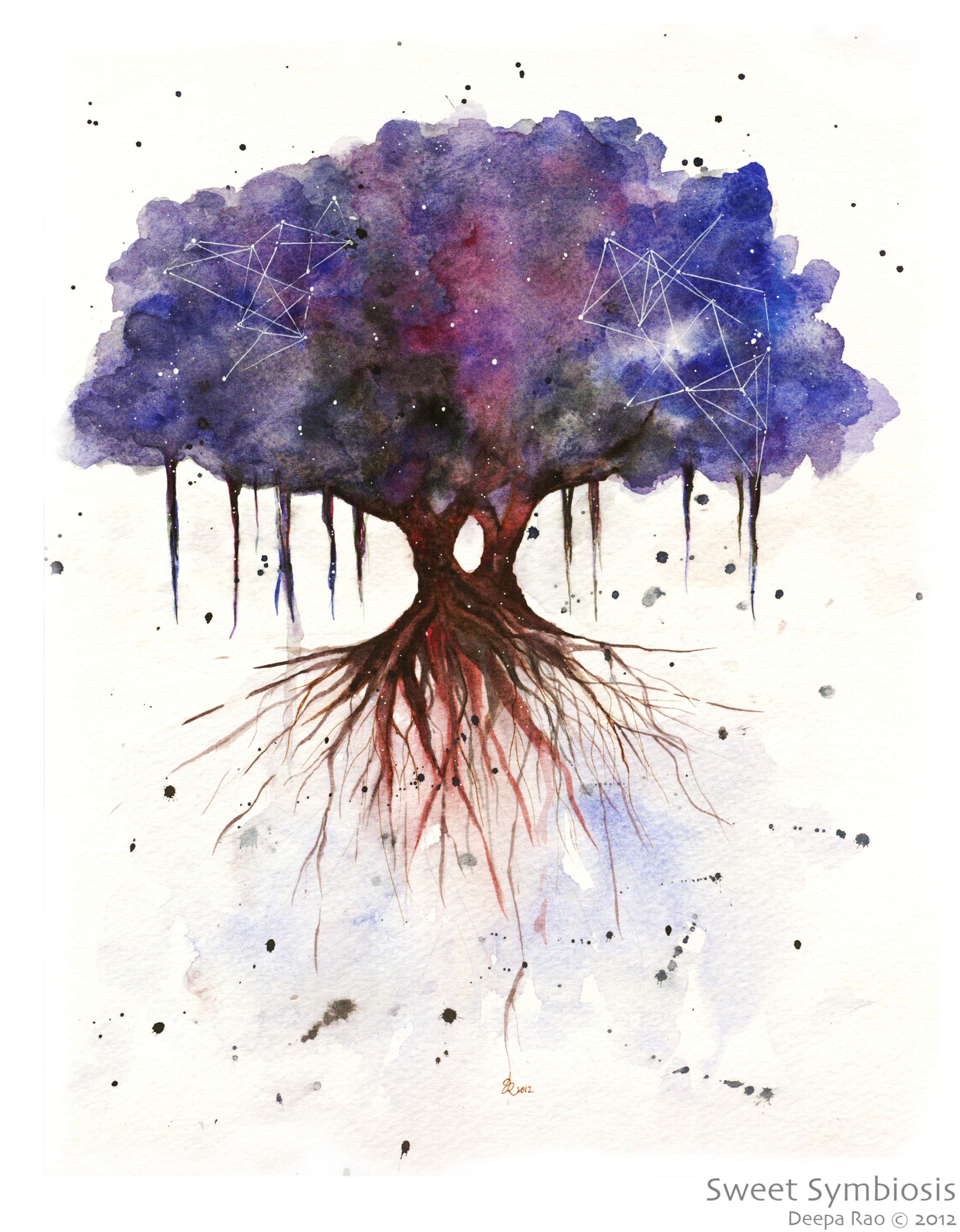 tree universe | Published January 8, 2013 at 1799 × 2309 in Universe Series