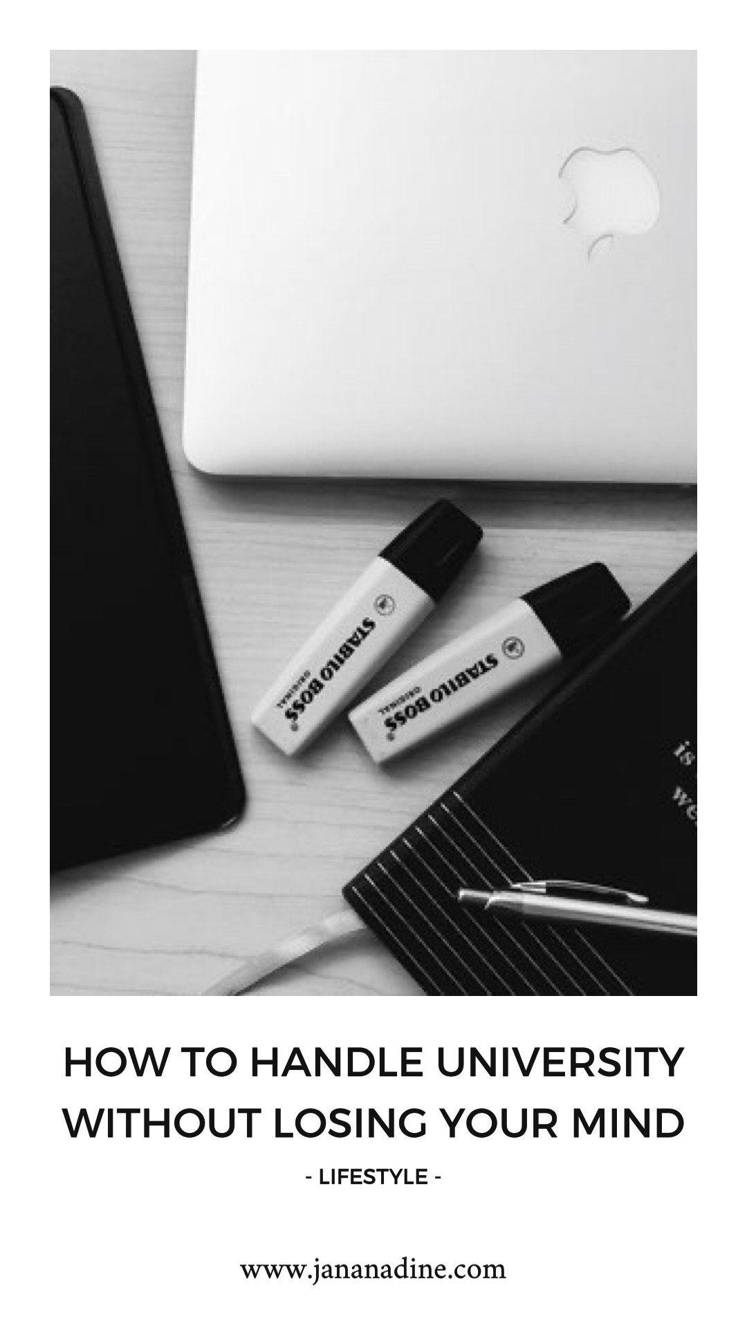 #lifestyleblog #universitytips #studytips #jananadine
