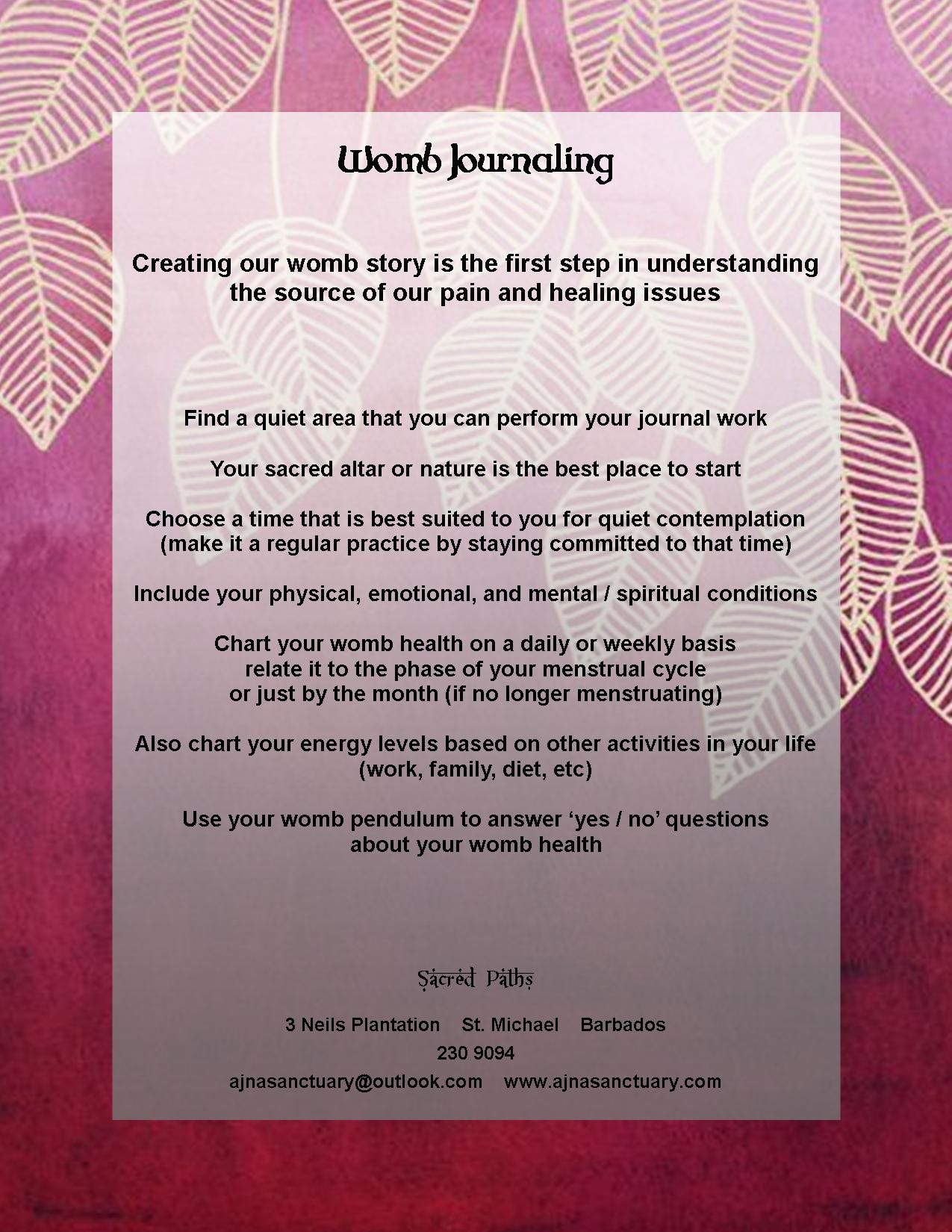 Starting Your Journey To Womb Wellness Through Womb