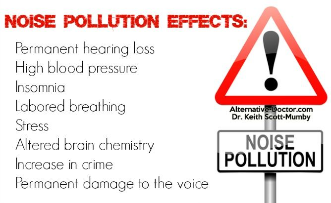 psychological effects of noise pollution