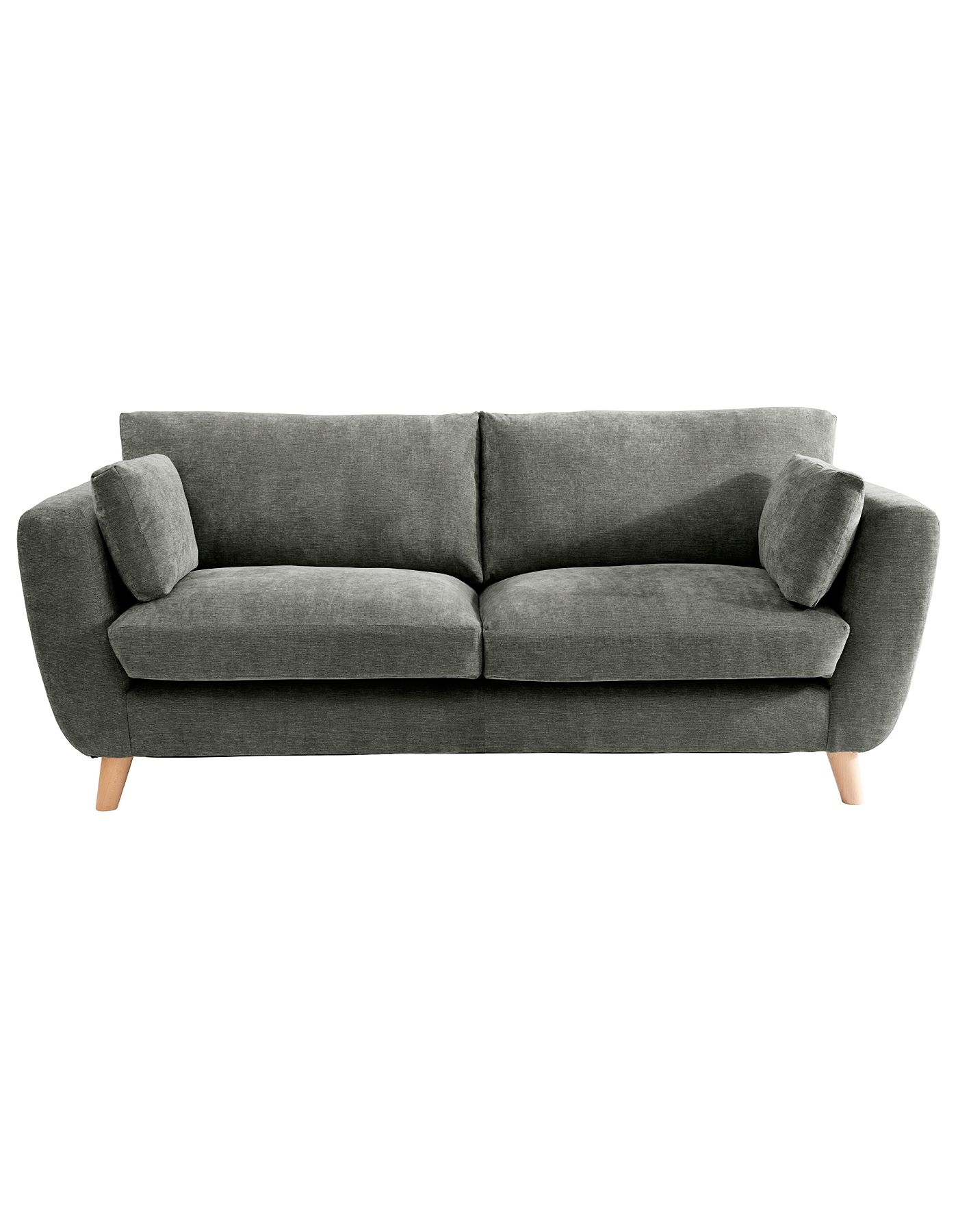 Interio Sofa George Sloane Large Sofa In Green Sofas And Armchairs Asda