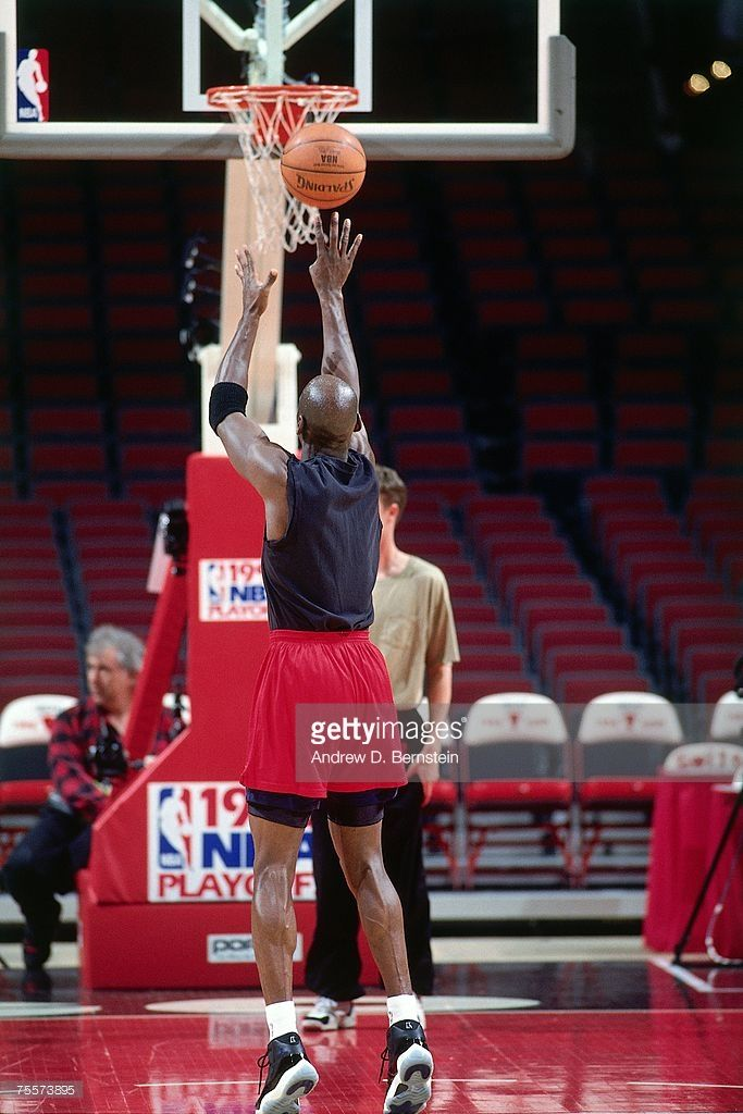 grossiste 746ee 14887 Michael Jordan of the Chicago Bulls shoots a free throw ...