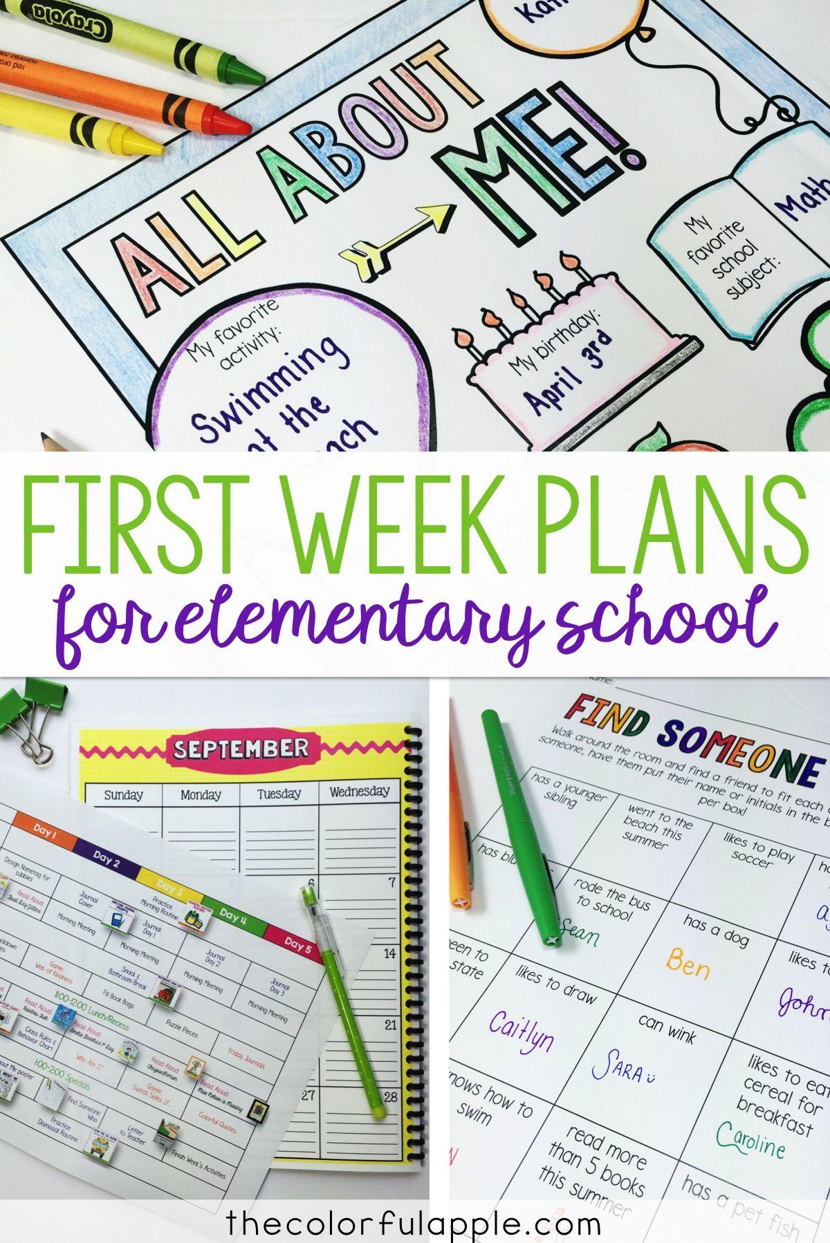 The First Week Of School In Grade 2