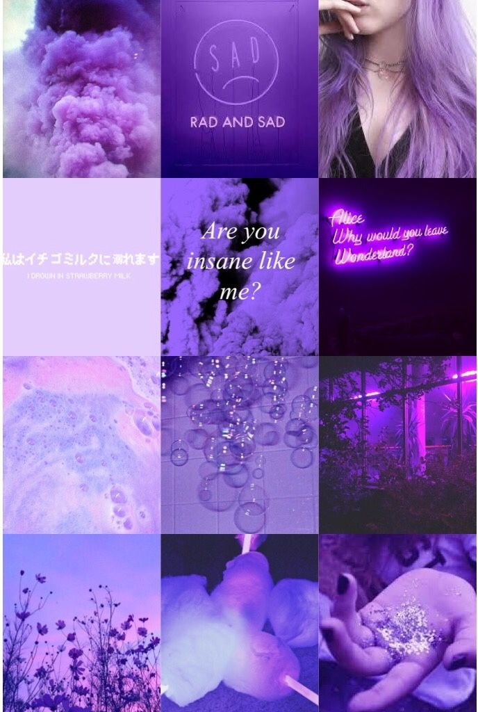 Purple Aesthetic Tumblr Aesthetic Boards In 2019