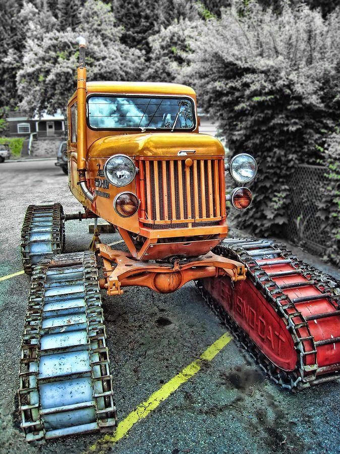 Tucker Sno Cat Wallace Idaho Snow vehicles, Big