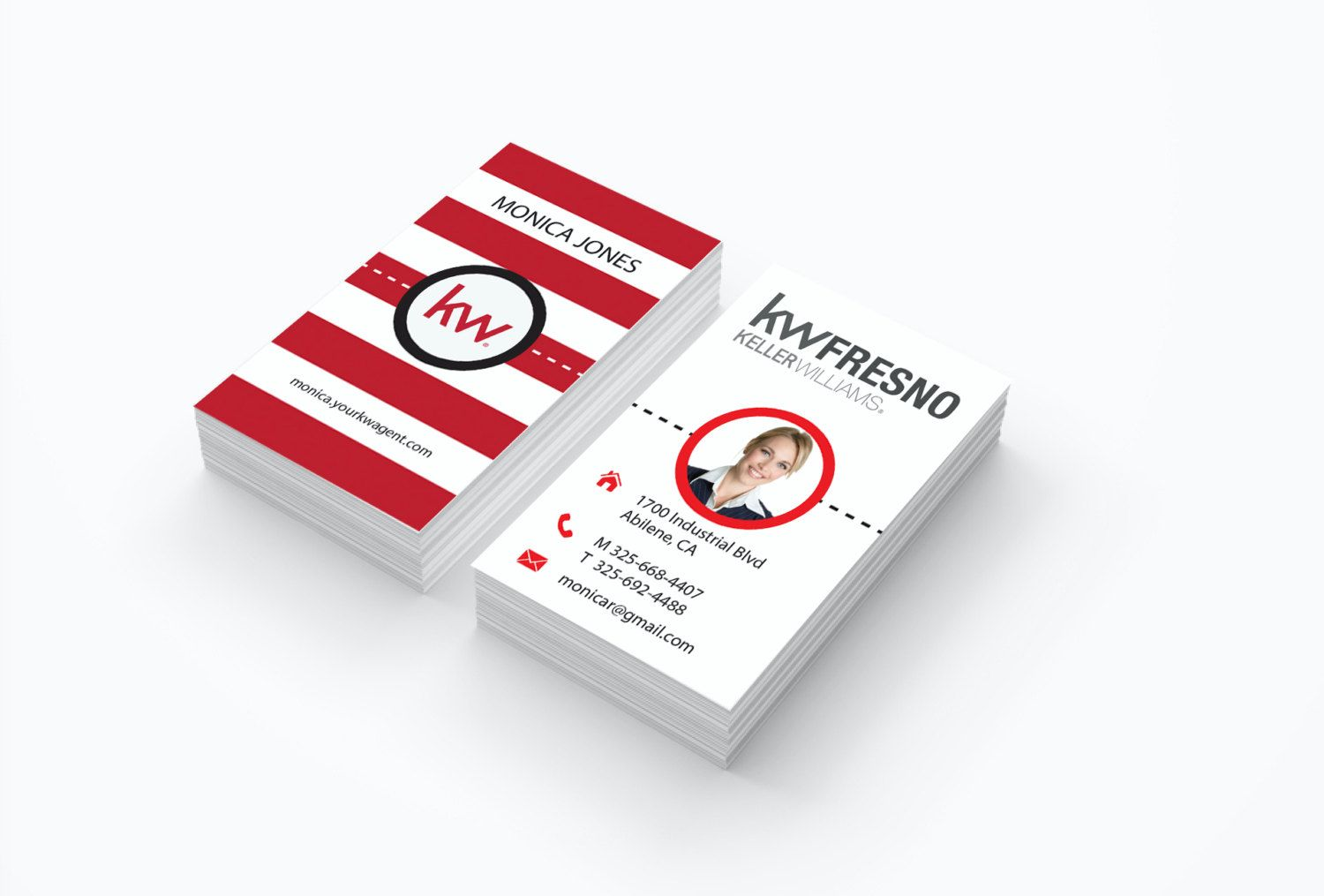 Cheap custom real estate business cards red stripes modern realtor cheap custom real estate business cards red stripes modern realtor gloss or matte color reheart Image collections