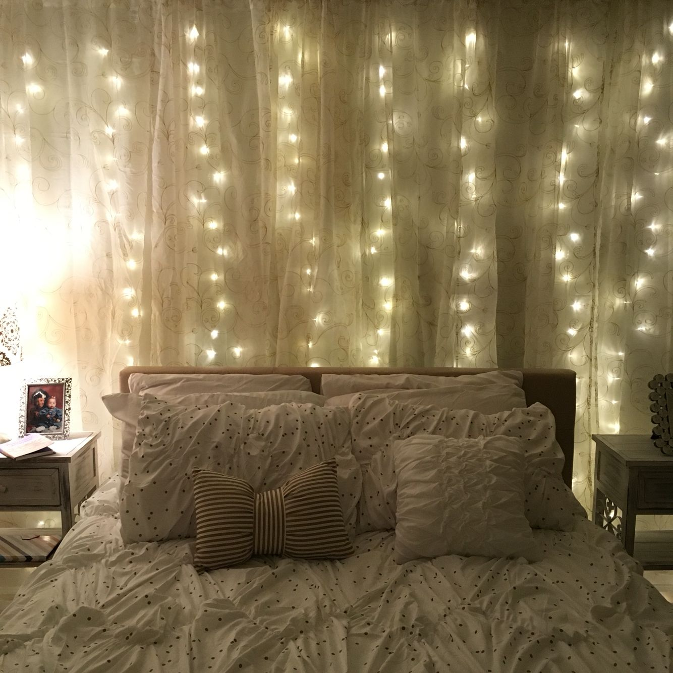 curtain lights diy curtains