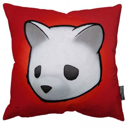 Luke Chueh Original Bear Limited Edition Art Cushion by This is a Limited Edition