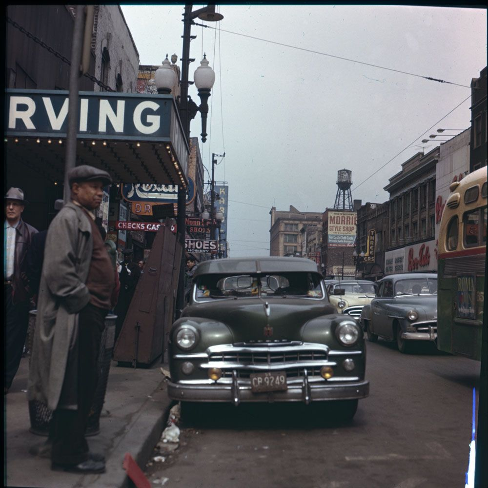 50 Color Vintage Snapshots Documented Everyday Life of Chicago in ...