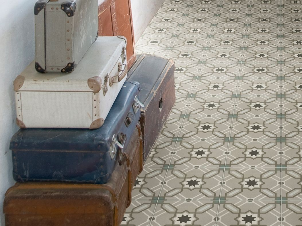 Vinyl Vloer Verven : De hal prachtige kleur op de muur urban taupe en op de vloer ral