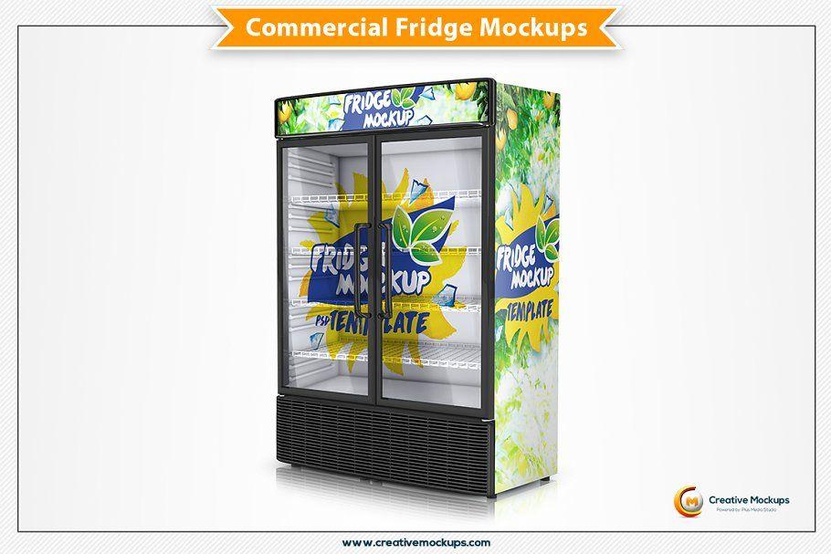 Vending Machine Psd Mockup Presentation Design Mockup Label Design