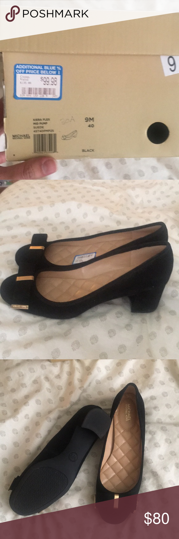5144ce4c83f MK Michael Kors Kiera Flex mid pumps size 9 Brand new in box Michael Kors  Kiera