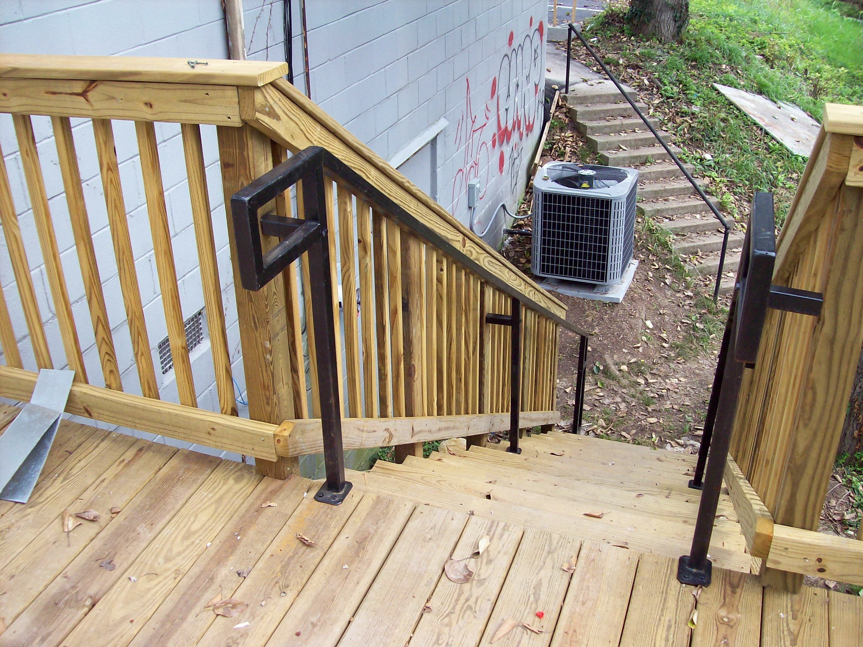 Best Commercial Ada Handrail Wood Decks Pinterest 640 x 480