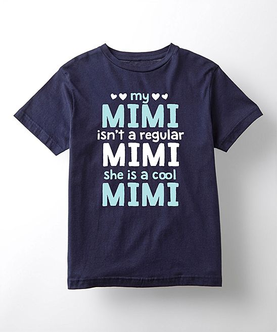 Navy 'She's A Cool Mimi' Tee - Toddler & Kids