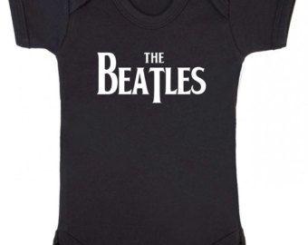 the Beatles music onesie – Etsy