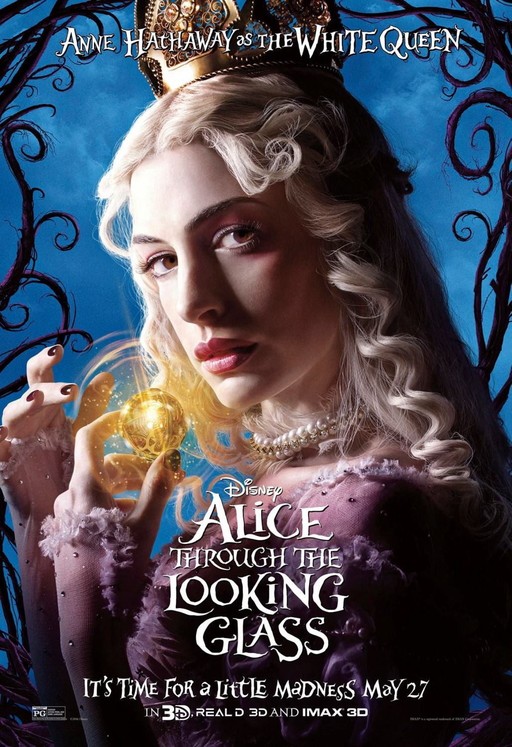 Alice Through The Looking Glass Anne Hathway As The White Queen
