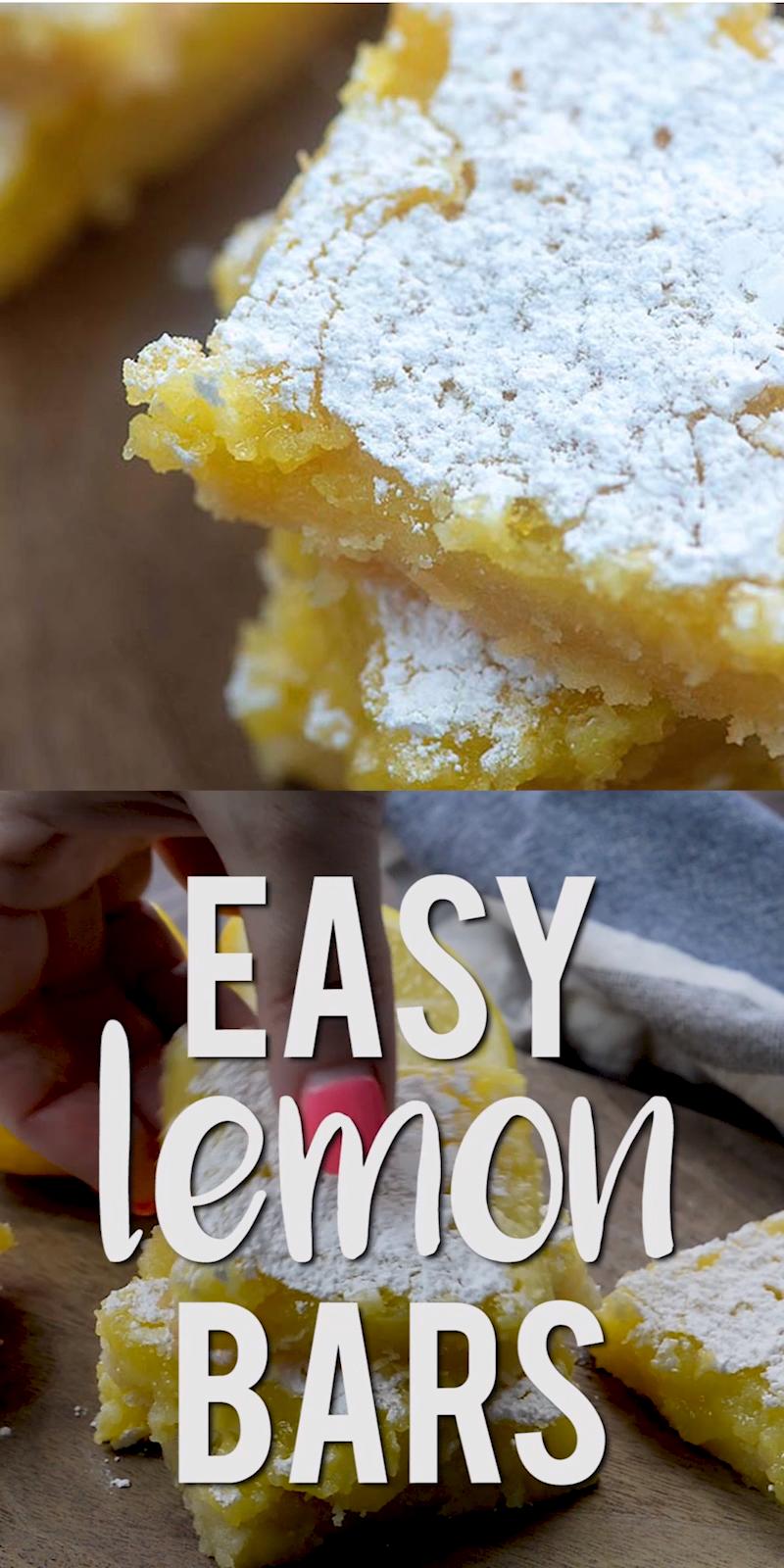 Photo of Easy Lemon Bars