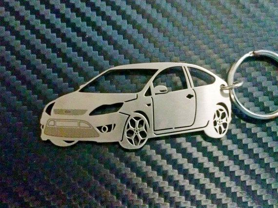 Key Chain For Ford Focus St Personalized Keychain Car Keychain Keychain For Car Custom Keychain Personalized Gift Birthday Gift Ford Focus Ford Focus St Personalized Keychain