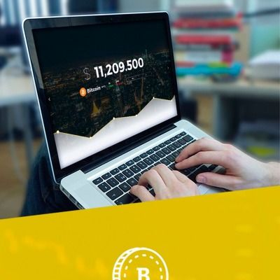 Crypterio bitcoin and cryptocurrency wordpress theme