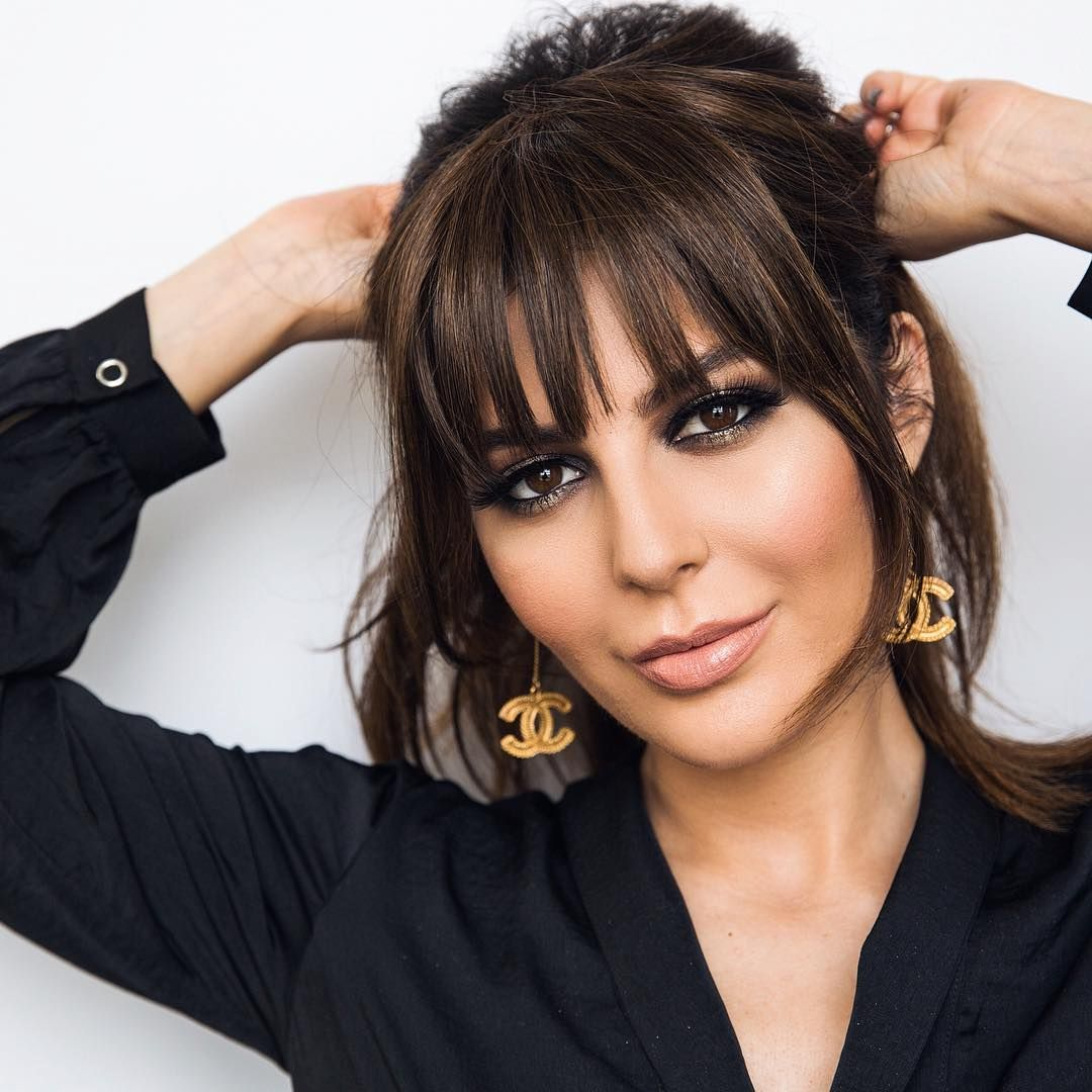 2019 Bangs Trends: Sona Gasparian (@simplysona