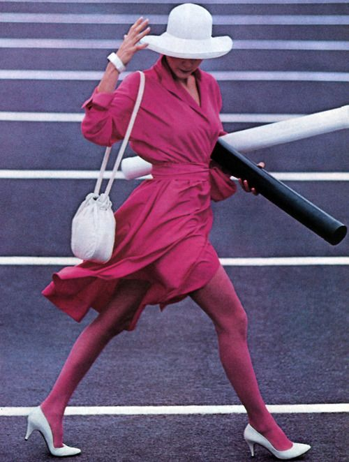 Halston III/JC Penney, American Vogue, April 1985.